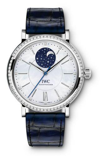 IWC IW4590-01 : Portofino Automatic Moon Phase 37 Stainless Steel / Diamond / MOP