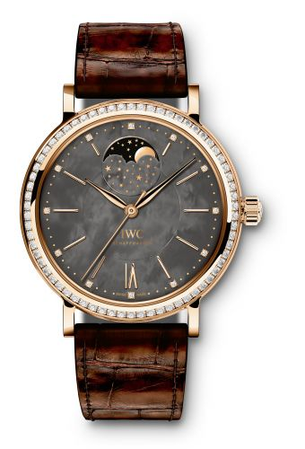 IWC IW4590-03 : Portofino Automatic Moon Phase 37 Red Gold  / Black MOP