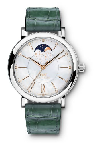 IWC IW4590-07 : Portofino Automatic Moon Phase 37 Stainless Steel / MOP
