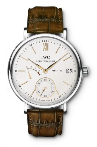 IWC IW5101-03 : Portofino Hand-Wound Eight Days Stainless Steel / Silver