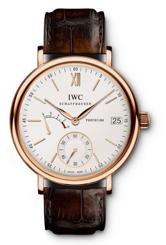 IWC IW5101-07 : Portofino Hand-Wound Eight Days Red Gold / Silver