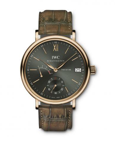 IWC IW5101-18 : Portofino Hand-Wound Eight Days Red Gold / Green / Harrods