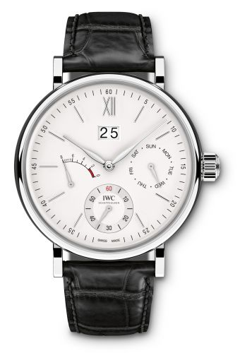 IWC IW5162-01 : Portofino Hand-Wound Day & Date Stainless Steel / Silver
