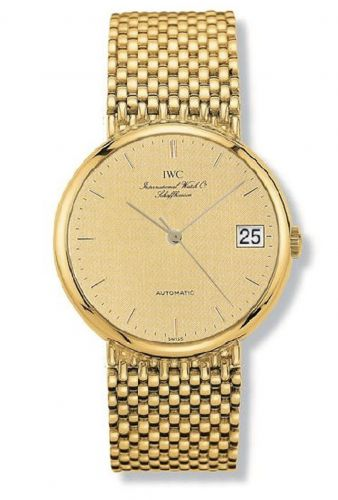 IWC IW9251-02 : Portofino Automatic Yellow Gold / Champagne / Bracelet