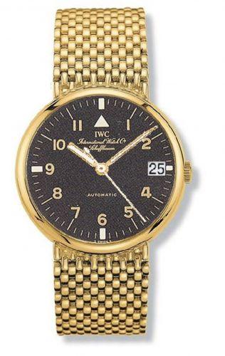 IWC IW9261-02 : Portofino Automatic Yellow Gold / Black - Pilot / Bracelet