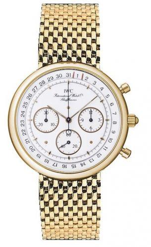 IWC IW9551-01 : Portofino Chronograph MecaQuartz Yellow Gold / White / Bracelet