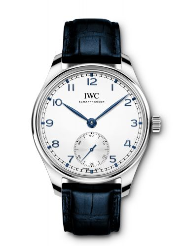 IWC IW3583-04 : Portugieser Automatic 40 Stainless Steel / Silver / Alligator