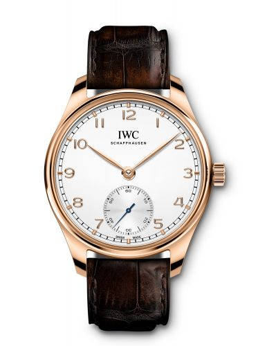 IWC IW3583-06 : Portugieser Automatic 40 Rose Gold / Silver / Alligator