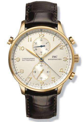 IWC IW3712-11 : Portugieser Chrono-Rattrapante Yellow Gold / Silver