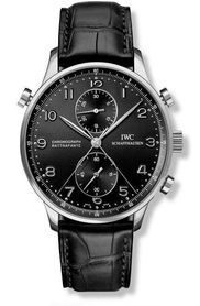 IWC IW3712-13 : Portugieser Chrono-Rattrapante Stainless Steel / Cortina