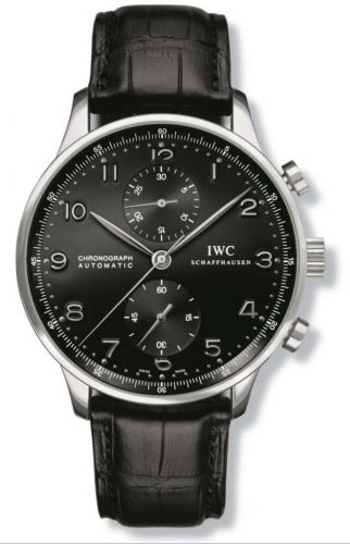 IWC IW3714-03 : Portuguese Chrono-Automatic White Gold / Black