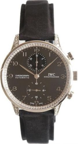 IWC IW3714-26 : Portugieser Chrono-Automatic White Gold / Black / Diamond