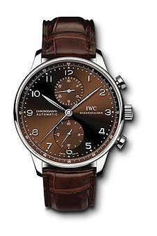 IWC IW3714-65 : Portugieser Chrono-Automatic Stainless Steel / Silver