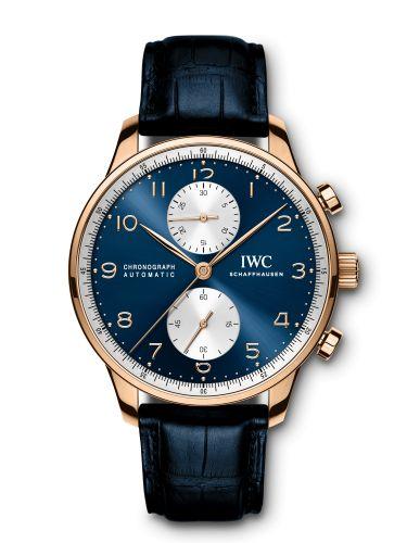 IWC IW3714-88 : Portugieser Chrono-Automatic Bucherer Blue Editions