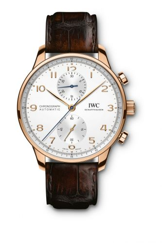 IWC IW3716-11 : Portugieser Chronograph Red Gold / Silver