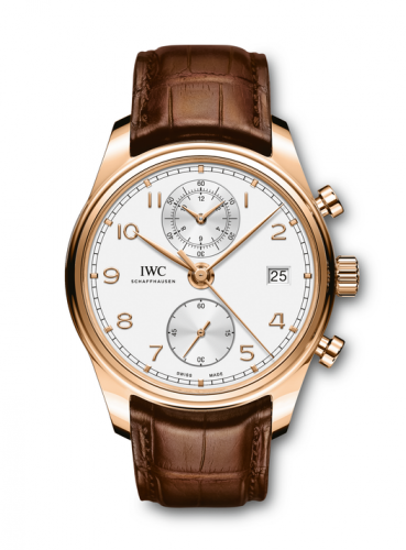 IWC IW3903-01 : Portugieser Chronograph Classic Red Gold / Silver