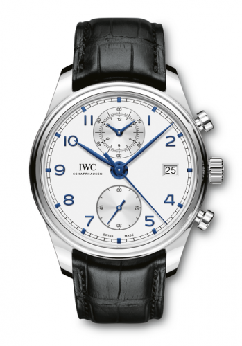 IWC IW3903-02 : Portugieser Chronograph Classic Stainless Steel / Silver