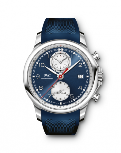 IWC IW3905-07 : Portuguese Yacht Club Chronograph 43.5 Stainless Steel / Blue / Summer Edition