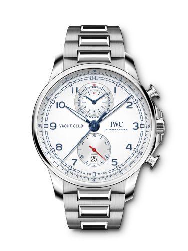 IWC IW3907-02 : Portugieser Yacht Club Chronograph Stainless Steel / Silver / Bracelet