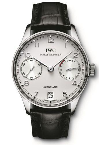 IWC IW5001-04 : Portuguese Automatic Platinum / Silver