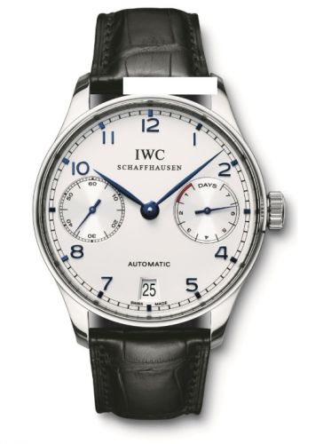 IWC IW5001-08 : Portuguese Automatic Stainless Steel / Silver