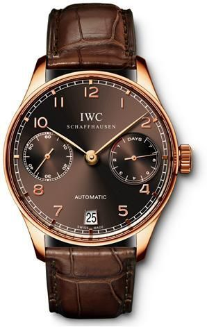 IWC IW5001-15 : Portuguese Automatic Red Gold / Gassan
