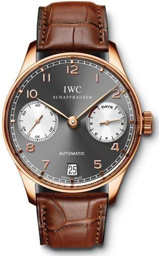 IWC IW5001-18 : Portuguese Automatic Red Gold / Tourneau