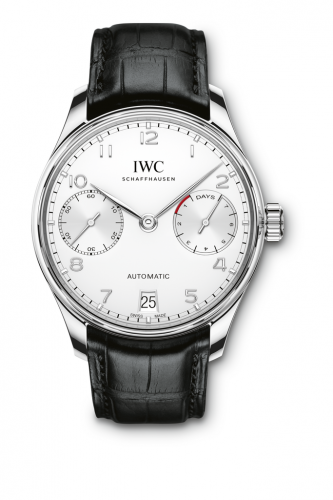 IWC IW5007-12 : Portugieser Automatic 5007 Stainless Steel / Silver / Silver Numerals