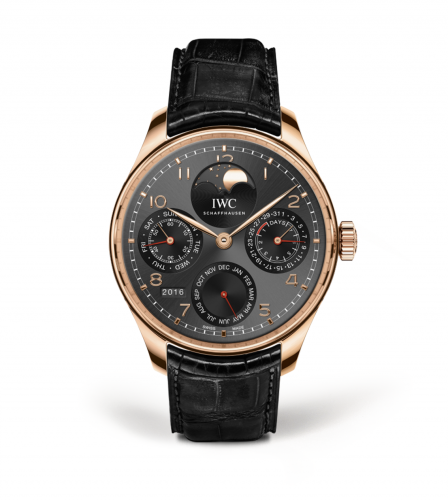 IWC IW5033-08 : Portugieser Perpetual Calendar Single Moon Red Gold / Dubail