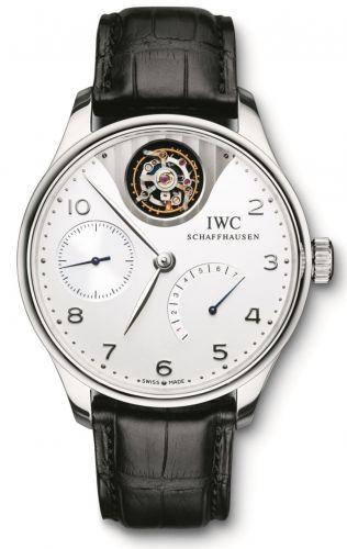 IWC IW5042-04 : Portugieser Tourbillon Mystere Platinum / Silver