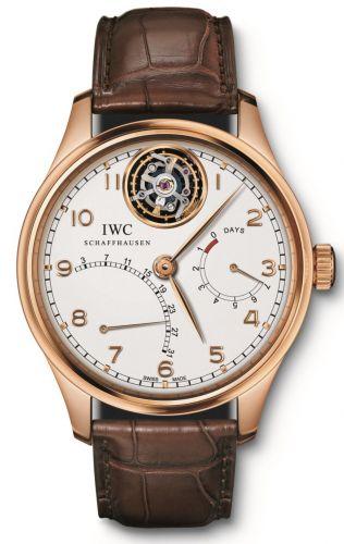 IWC IW5044-02 : Portuguese Tourbillon Mystère Rétrograde Red Gold / Silver