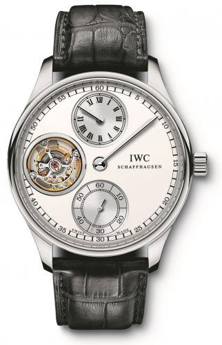 IWC IW5446-01 : Portugieser Regulateur Tourbillon Platinum / Silver