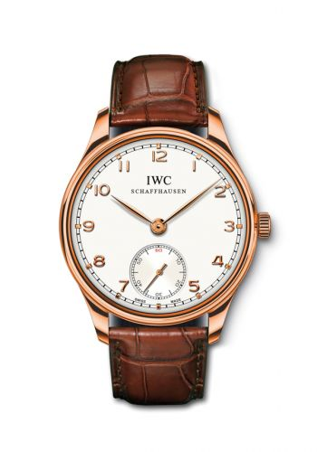 IWC IW5454-09 : Portuguese Hand-Wound Rose Gold Boutique Edition