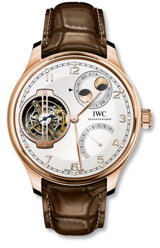 IWC IW5901-08 : Portugieser Constant-Force Tourbillon Double Moon Red Gold / Silver
