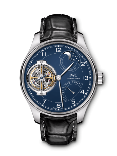 "IWC IW5902-03 : Portugieser Constant-Force Tourbillon Edition ""150 Years"" Platinum / Blue"