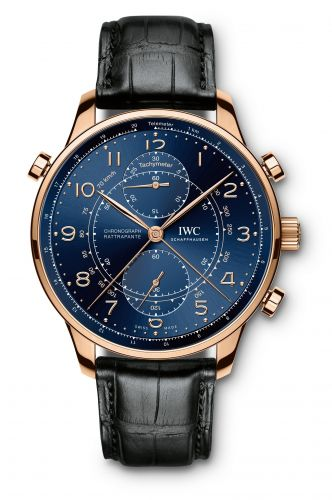 IWC IW3712-15 : Portuguese Chrono-Rattrapante Red Gold / Blue / Boutique Milano