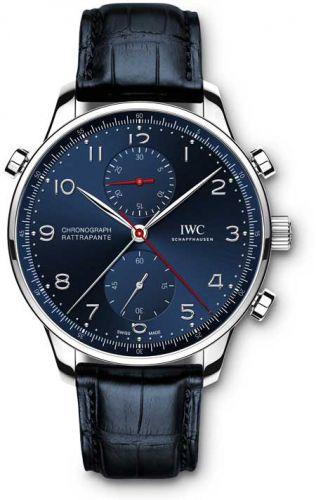 IWC IW3712-17 : Portuguese Chrono-Rattrapante Boutique Munich