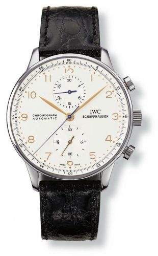 IW3714-01 : IWC Portuguese Chrono-Automatic Stainless Steel / Silver