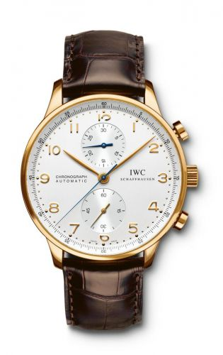 IWC IW3714-16 : Portuguese Chrono-Automatic Yellow Gold / Silver