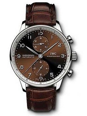 IWC IW3714-50 : Portuguese Chrono-Automatic Stainless Steel / Galli