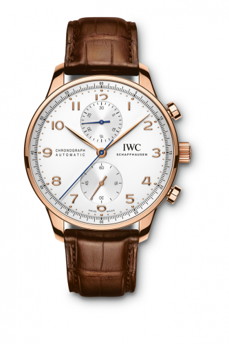 IWC IW3714-80 : Portuguese Chrono-Automatic Red Gold / Silver
