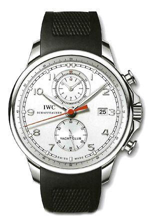 IWC IW3902-11 :  Portuguese Yacht Club Chronograph Silver