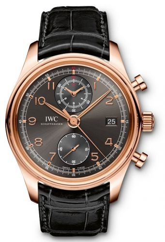 IWC IW3904-05 : Portuguese Chronograph Classic Red Gold / Ardoise