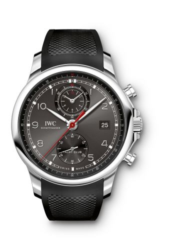 IWC IW3905-03 : Portuguese Yacht Club Chronograph 43.5 Stainless Steel / Ardoise