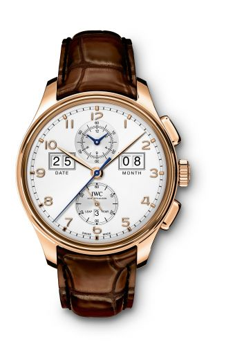 """IWC IW3972-03 : Portugieser Perpetual Calendar Digital Date-Month Edition """"75th Anniversary"""" Red Gold / Silver"""