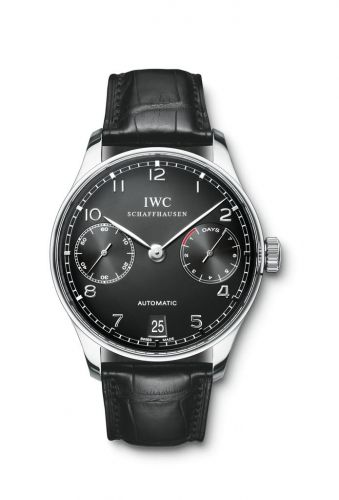 IWC IW5001-09 : Portuguese Automatic Stainless Steel / Black