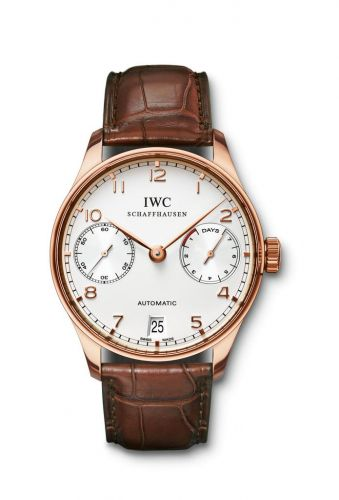 IWC IW5001-13 : Portuguese Automatic Red Gold / Silver