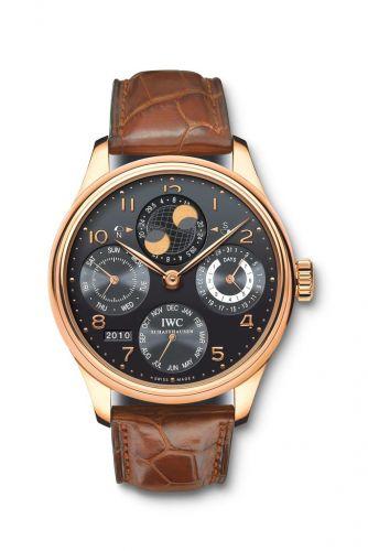 IWC IW5021-22 : Portuguese Perpetual Calendar 5021 Red Gold / Black