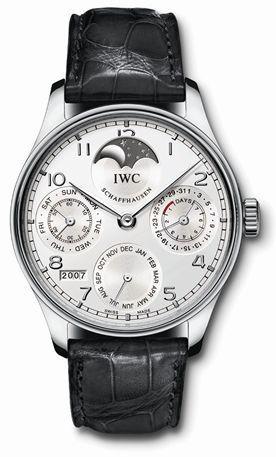 IWC IW5022-19 : Portuguese Perpetual Calendar 5022 Platinum / Silver