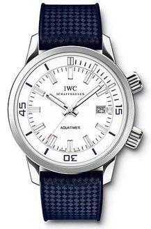 IWC IW3231-10 : Vintage Aquatimer Automatic 1967 White Gold / White